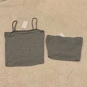 H&M Tops - BRAND NEW H&M TANK AND TUBE TOP